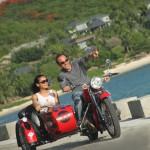 Sidecar Motorcycle Experience At Mandarin Oriental, Sanya