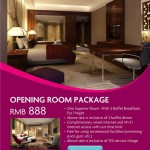 Opening Room Package Of Crowne Plaza Yiwu Expo