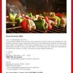 South American BBQ at Radisson Blu Pudong